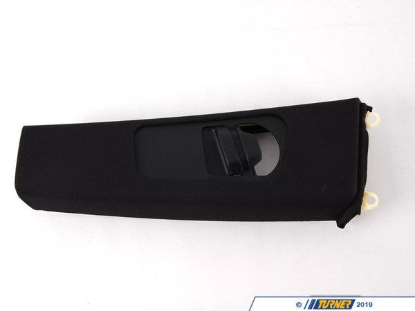 T#21100 - 51437069163 - Genuine BMW Left Upper Column A Cover Its Schwarz - 51437069163 - E46 - Genuine BMW -