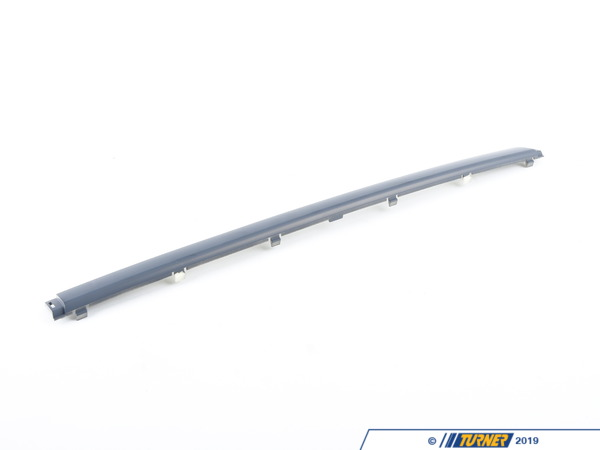 T#23307 - 51117005987 - Genuine BMW Bumper Guard, Primed Chrom - 51117005987 - E39 - Genuine BMW Bumper Guard, Primed - ChromThis item fits the following BMW Chassis:E39 - Genuine BMW -