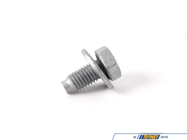 T#29700 - 07147156546 - Genuine Mini Hex Screw With Collar - 07147156546 - Genuine MINI -