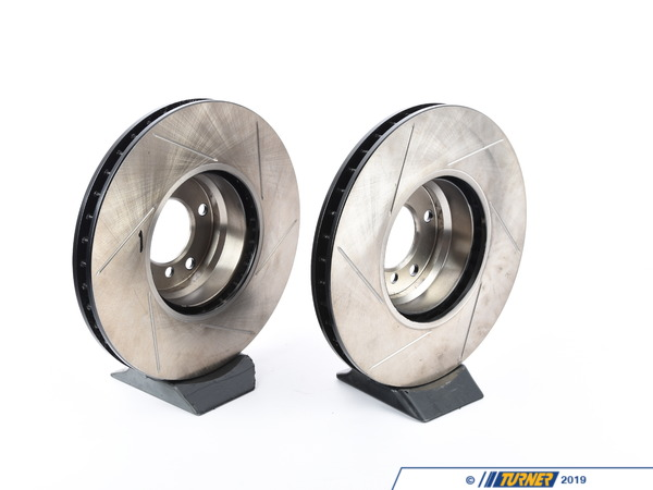 T#210945 - 34111161372GS - Gas-Slotted Brake Rotors (Pair) - Front - E38 750i & 750iL - StopTech - BMW