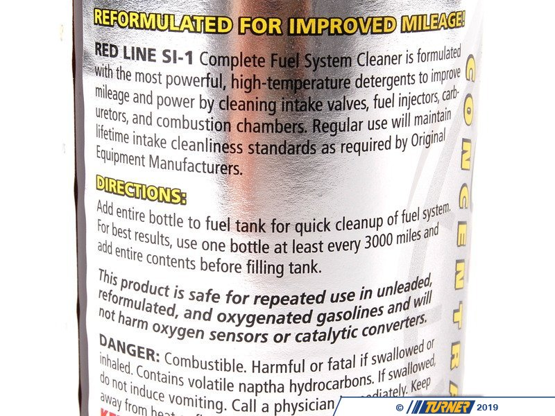 Si 1 Red Line Si 1 Complete Fuel System Cleaner 15oz