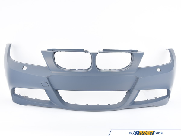 T#77138 - 51118049257 - Genuine BMW E90 M Sport Front Bumper W Headlight Washers - 51118049257 - Genuine BMW -