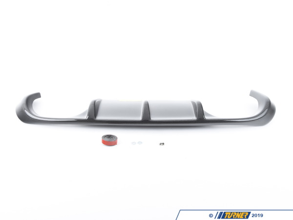 T#12233 - TMS12233 - Vorsteiner Rear Carbon Fiber Diffuser - E92 E93 M3 - Show off the racing heritage of your E92, E93 M3 with this  Vorsteiner VRS Aero carbon fiber rear diffuser type II ! This carbon fiber rear diffuser replaces the plastic panel on factory rear bumper with this beautifully crafted, highly detailed, more aggressive  and downforce producing diffuser.  Vorsteiner is a company that was conceived through the imagination of creating the highest quality parts for the most discerning vehicles and clientele. Their relentless pursuit of advancement and perfection is seen not only in their unmatched automotive parts, but also in the hands of carbon fiber craftsmen to create purely sensational parts for the most deserving and elite vehicles.Every Vorsteiner product is rigorously tested and must pass our highly detailed quality control before leaving the on-site Vorsteiner factory. Only after rigorous testing can a part be deemed worthy of the Vorsteiner name. Our clientele expect nothing less than perfection from Vorsteiner, and we welcome and exceed these expectations.Vorsteiner's Autoclaved Pre-Preg Carbon Fiber structure gives our parts superior stiffness, aerospace strength & durability compared to traditional hand laid carbon fiber composites.NOTE: For cars with aftermarket exhaust some trimming may be required.This item fits the following BMWs:2008-2012  E92 BMW M3 - Coupe2008-2012  E93 BMW M3 - Convertible - Vorsteiner - BMW