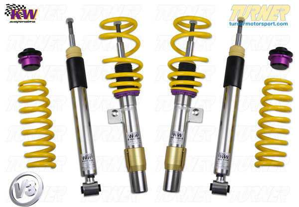 T#11636 - 35220024 - E46 325xi/330xi KW Coilover Kit - Variant 3 (V3) - KW Suspension - BMW