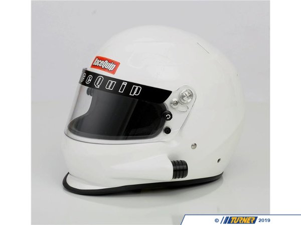 Racequip RaceQuip PRO15 Side Air Snell SA2015 Helmets - Gloss White RQPRO15FFAIRW