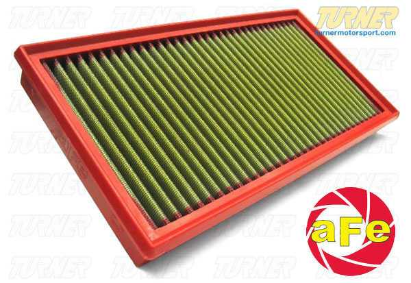 "T#1236 - 30-10099 - aFe Pro5R Air Filter - MINI Cooper (non-S) 2002-2006 - aFe performance air filter for all 2002-2006 MINI Cooper R50 - non-S modelsThis version uses aFe's highest flowing filter media, which uses a lightly oil gauze to filter out dirt and particulates, while allowing more air to flow to the intake. For the best flowing filter, with the best performance gain, we always recommend this standard aFe filter media (often called ""Pro5R "", which has a blue pre-oiled filter media). We also carry this filter in the ""ProDry"" grey filter media, which is oil-free for only slightly less performance and no maintenance. - AFE - MINI"