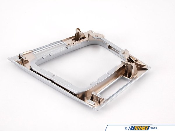 T#86120 - 51168234271 - Genuine BMW Depositing Box Bottom Panel Mattchrom - 51168234271 - E46 - Genuine BMW -