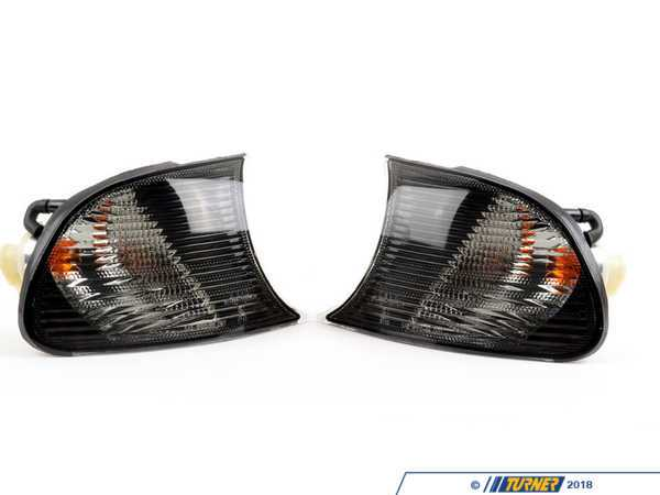 Depo Depo Smoked Corner Assembly Pair - E46 Coupe/Convertible (09/2001+) 4441512PAES
