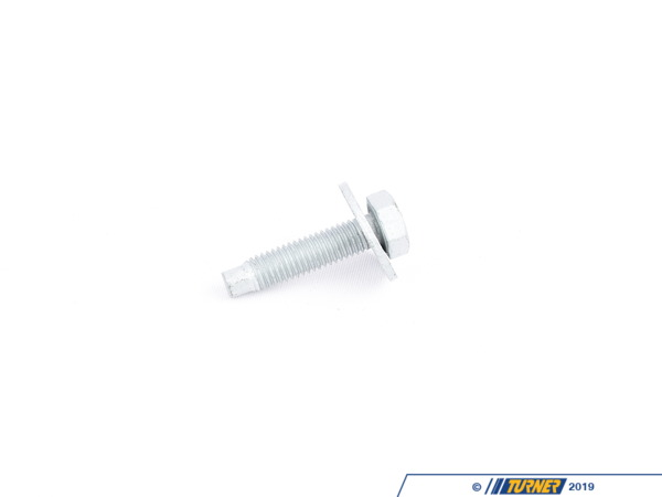 T#27889 - 07119906672 - Genuine BMW Hex Bolt - 07119906672 - Genuine BMW -