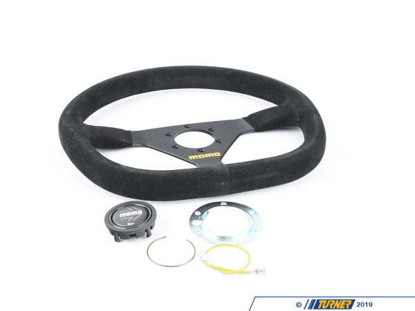 MOMO MOMO Mod.88 Steering Wheel - Black - 350mm TMS1863