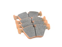 Pagid Racing RS44 Blue Allround Racing Brake Pad Set - Front - E36 M3, E46 330i M3, E34, E32, Z3 M, Z4 M