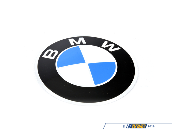 Genuine BMW Wheel Emblem - 2002 E12 36131181104