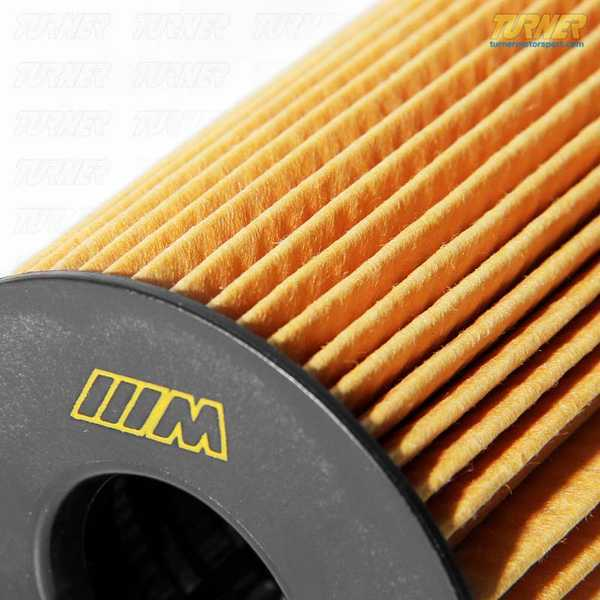 T#16412 - 11427848321 - Oil Filter - E70 X5M, E71 X6M, F10 M5, F12 M6 - S63 BiTurbo Engine - Genuine BMW - BMW