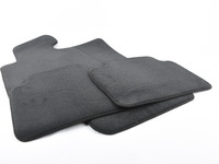 Genuine BMW Carpeted Floor Mat Set - Anthracite - F30 F31 F80