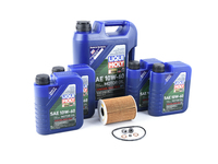 Liqui Moly Synthoil Race Tech GT1 10w-60 Oil Service Kit - E9x M3