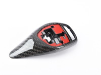 T#396181 - BM-0197 - Carbon Fiber Gear Selector Cover - BMW Sport Automatic Transmission Equipped Only - AUTOTECKNIC - BMW