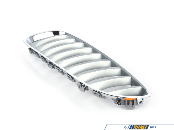 T#23571 - 51137181547 - Genuine BMW Grille Left Alu Matt - 51137181547 - E89 - Genuine BMW -