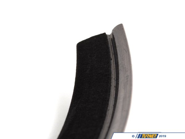 T#89582 - 51218146240 - Genuine BMW Inner Right Window Channel Cover - 51218146240 - E36 - Genuine BMW -