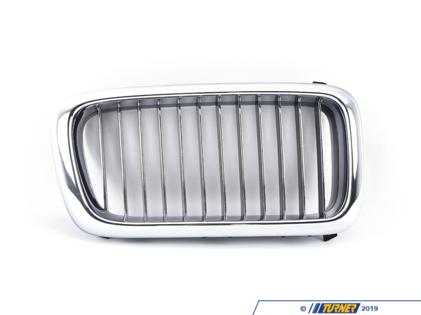 Genuine BMW Kidney Grill - Chrome - Right - E38 740i/il 750il 1996-1998 51138172280