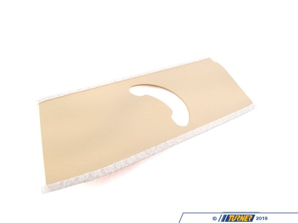 T#104972 - 51438250943 - Genuine BMW Left Belt Height Adjustment - 51438250943 - Pearlbeige - Genuine BMW -