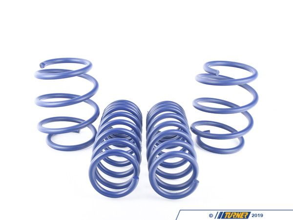 "T#1719 - 29158-2 - H&R Sport Spring Set - E64 M6 Convertible - Front Lowering -1.0"" Rear Lowering -1.0""Enhance the look of your BMW E64 M6 Convertible with a reduced fender well gap. H&R Sport Springs lower the vehicle center of gravity and reduce body roll for better handling. The progressive spring rate design provides superb ride quality and comfort. A lower wind resistance signature will make the vehicle more streamlined and improve gas mileage. If you are only looking to improve one part of your vehicles suspension, you cannot go wrong with installing Sport Springs. Fun to drive, H&R Sport Springs are the number one upgrade for your vehicle. We recommend installing Bilstein Sport shocks with these lowering springs.This item fits the following BMWs:2005-2011  E64 BMW M6 Convertible - H&R - BMW"