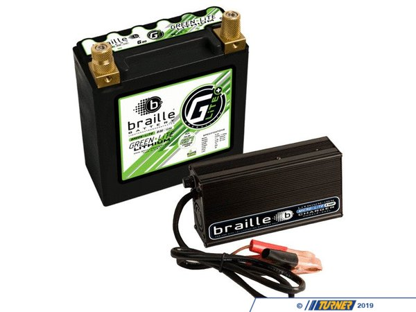 Braille Braille Performance GreenLite Lithium-ION Battery w/ Charger - G20 - 4.5lbs G20C