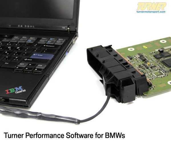 T#2408 - TNS85-ST2 - Turner Race Software for the E60 M5, E63/E64 M6 - RACE SOFTWARE TO BE USED WITH HEADERSMax HP gain = 18* hp @8200rpmMax Trq gain = 15* ft-lbs @6900rpmRev Limit = 8400 RPMThis special Race software is designed to work with sport headers that eliminate the primary catalytic converters. On our own M5 project vehicles, this combination netted 30hp and 50ft-lbs of torque* - a massive transformation to an already mighty car. Our special software will keep fault codes and check engine lights away by ignoring the readings from the second set of oxygen sensors. Without a reading, the computer doesn't realize the cats have been removed. We also tune many other areas of the engine programming - fuel and timing maps at part throttle and wide-open throttle, VAN0S variable valve timing, rough idle at cold start, crisper shifts in SMG, and more. The throttle response is also improved (quicker) eliminating unwanted and dangerous flat spots in the pedal response.* = software alone, +30hp/+50ft-lbs when used with headers and removing primary catalytic converters. See dyno chart.If you have other modifications done to your M5/M6, we can supply you with specially-developed software to maximize the gains from those upgrades. Select all those that apply in the list below.This software is a reflash of your computer. The computer will need to be sent to Turner Motorsport for the installation. Click here for specific instructions on shipping the computer. If you are unsure of how to ship your computer, we can provide you with a shipping packet. Return shipping is by UPS Ground but Express shipping is available.This software alters the federally-mandated emissions equipment on your car. Because of this, we require a waiver of emissions compliance to be signed and sent in to TMS. TMS does not guarantee or promote that this software will pass a federal or state or local emissions test. You can download the waiver here.This item fits the following BMWs:2006-2010 E60 M5 sedan2006-2010 E63 M6 coupe, E64 M6 cabrio - Turner Motorsport -