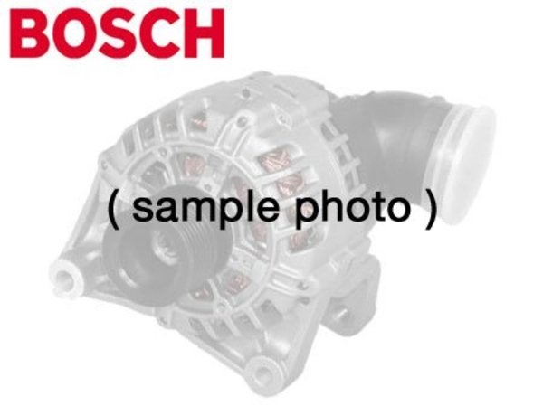 T#1981 - AL0734X - Bosch Alternator - 150 amp (water cooled) - 1999-2003 E39 540i, E38 740i & E53 X5 V8 - Replacement 150 amp water cooled Bosch alternator for 1999-2001 E38 740i & 740iL, 1999-2003 E39 540i, and 2000-2003 X5 V8 (4.4 and 4.6 liter). Bosch is an original equipment supplier to BMW, and is the finest and most recognized German brand of alternator available. Buy only the best alternator for your BMW -- buy a Bosch alternator. Replaces part number 12317508054Bosch is one of the largest OEM producers of Genuine BMW and aftermarket parts in the world, providing parts for almost every major automotive manufacturer. Bosch has likely supplied many of the original electrical (and mechanical) parts for your BMW. Thanks to their exacting assembly process and high level of durability you can expect a long service life from all Bosch products.A refundable core charge must be applied to this alternator. Upon receipt of your rebuildable alternator core, you will be refunded the core charge.This Bosch Alternator fits the following BMWs:1999-2001 E38 7 Series 740i & 740iL1999-2003 E39 5 Series 540i sedan & 540i touring wagon2000-2003 X5 SAV with V8 engine - X5 4.4 & X5 4.6isIncludes $100.00 core charge to be refunded on return of your rebuildable core. - Bosch - BMW