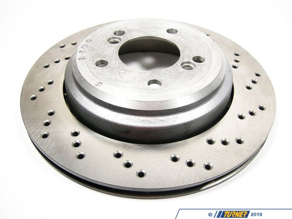 Genuine European BMW Brake Disc, Ventilated, Right 34212282304 34212282304