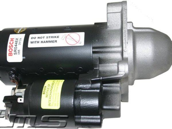 T#2300 - SR0445X - Bosch Starter Motor - E34 525i E36 318i 325i M3 - This genuine Bosch Starter motor fits the following BMWs:1990-1992 E30 3 Series 318i 318is 318ic1992-1995  E36 3 Series 318i 318is 318ic 325i 325is 325ic M31991-1995  E34 5 Series 525i 525i wagon  with M50 EngineIncludes $92.00 core charge to be refunded on return of your rebuildable core. - Bosch - BMW