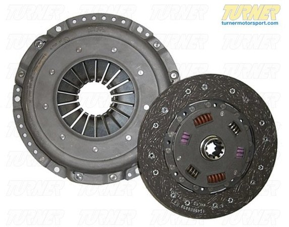 T#1792 - TMS1792 - E36 M3 SACHS HD Clutch Kit (Pressure Plate & Clutch Disc) - Experience longer life and less slippage with this SACHS heavy duty clutch kit, which includes their heavy duty pressure plate and sport sprung-hub clutch disc. This clutch kit is recommended for car making over 290 hp using a stock flywheel. - Sachs -