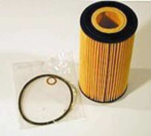 T#1628 - 11427511161 - OEM Hengst Engine Oil Filter - N62 4.4L - This is an OEM Hengst oil filter kit made with the same materials and design as the original oil filter used in BMW dealers (but at a better price!). The kit includes the oil filter, housing cap o-ring, and washer. - Hengst - BMW