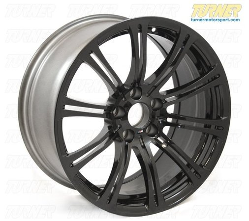 "T#2963 - TMS2963 - E9X M3 19"" BMW Style 220 Jet Black Wheel Set (Genuine BMW) - Black wheels are a popular and compelling wheel trend. These are the factory Style 220 M3 wheels in a glossy Jet Black. We think these look great on a lot of E90/E92 colors, especially on darker colors. These are factory BMW wheels, not replicas, so there is no question on the quality of the black paint and finish. These are a direct fit in the factory sizes and offsetsto all E90/E92/E93 M3 and the 1M Coupe.Style 220 wheel set includes -2 x 19x8.5"" ET29 BMW Style 220 Individual Jet Black forged alloy wheel (BMW #36117842933)2 x 19x9.5"" ET22BMW Style 220 Individual Jet Black forged alloy wheel(BMW #36117842933)4 x BMW wheel center capsRecommended Tire Sizes (by BMW):Front Tire - 245/35/19Rear Tire - 265/35/19For more information on BMW wheels and wheel info in general, check out our Wheel Fitment Guide by clicking here.This item fits the following BMWs:2011  E82 BMW 1M Coupe2008-2011  E90 BMW M3 Sedan2008-2012  E92 BMW M3 Coupe2008-2012  E93 BMW M3 Convertible - Genuine BMW - BMW"
