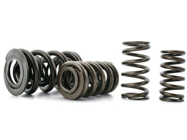 T#439 - S10049-24 - E36 325, 328 & M3 Ferrea High Performance Valve Spring Set - Ferrea valve springs are developed from high strength alloys, including premium grade chrome silicone steel These springs are manufactured with state-of-the-art equipment. Ferrea springs are heat-treated and stress-relieved, which dramatically increases the spring's life. Strict quality control procedures and cycle testing ensures consistency from batch to batch. Ferrea valve springs provide the stability needed for high lift, high rpm racing and street car engines. Kit includes a set of 24 springs. MUST be used with the Ferrea Spring Seat and Titanium Retainers. See links below.https://www.turnermotorsport.com/e/p-163-e36-325-328-m3-ferrea-spring-seat-set/https://www.turnermotorsport.com/e/p-31-e36-325-328-m3-ferrea-titanium-retainer-set/This item fits the following BMWs:1992-1998  E36 BMW 323is 323ic 325i 325is 325ic 328i 328is 328ic M31991-1995  E34 BMW 525i - Ferrea - BMW