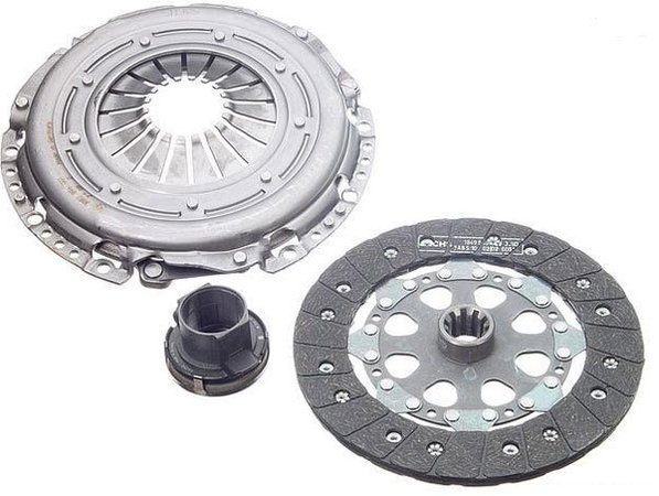 T#4182 - 21211223571 - OEM LuK Clutch Kit - E30, E36 318i/is, Z3 1.9 with AC - OEM LuK Clutch Kit includes Clutch Disc, Pressure Plate, and T/O Bearing. Call for applications not listed above. SACHS is the OEM supplier for BMW. This kit fits all 1990-1999 4 cylinder BMW's (which all have the M42 or M44 engine). Only for cars with Air Conditioning.OEM Schaeffler (INA, LuK, & FAG) is an engineering company that focuses on high-performance, precision manufacturing. With their individual brands INA, Luk, and FAG providing exceptionally high quality parts directly to BMW, as well as countless other automotive companies, their history of reliability and variety of offered parts makes Schaeffler a go-to replacement parts provider for all of us here at Turner Motorsport.As a leading source of high performance BMW parts and accessories since 1993, we at Turner Motorsport are honored to be the go-to supplier for tens of thousands of enthusiasts the world over. With over two decades of parts, service, and racing experience under our belt, we provide only quality performance and replacement parts. All of our performance parts are those we would (and do!) install and run on our own cars, as well as replacement parts that are Genuine BMW or from OEM manufacturers. We only offer parts we know you can trust to perform!This item fits the following BMWs:1990-1991  E30 BMW 318i 318is 318ic1992-1998  E36 BMW 318i 318is 318ti 318ic1997-1998  Z3 BMW Z3 1.9 - LUK - BMW