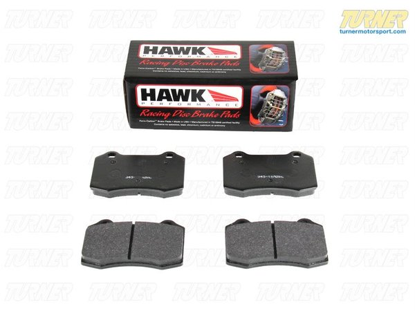 T#3630 - TMS3630 - Brembo Calipers Lotus, A, C, F - Race/Street Brake Pad Set - Hawk HP Plus - Hawk HP Plus pads were designed for autocross use and are a great pad when a track pad is needed for light use on the street. It was designed specifically for autocross, Solo II, and driver school events. HP Plus pads feature high friction levels in a broad temperature range, allowing you to use these pads to get to and from the track and still achieve race-level braking performance on the course.This pad set fits the following Brembo 4-piston calipers:Lotus / Type A / Type C / Type FLotus calipers are found in many Brembo GT Big Brake Kits, including these BMW models:1984-1991  E30 BMW 318i 318is 318ic 325e 325es 325i 325ic 325is 325ix M31992-1998  E36 BMW 318i 318is 318ti 318ic 323is 323ic 325i 325is 325ic 328i 328is 328ic M31999-2005  E46 BMW 323i 323ci 325i 325ci 325xi 328i 328ci 330i 330ci 330xi M32006-2011  E90 BMW 325i 325xi 328i 328xi 328i xDrive 330i 330xi 335d 335i 335xi 335i xDrive - Sedan2006-2012  E91 BMW 325xi 328i 328xi 328i xDrive - Wagon2007-2013  E92 BMW 328i 328xi 328i xDrive 335i 335is 335xi 335i xDrive - Coupe2007-2013  E93 BMW 328i 335i - Convertible1982-1988  E28 BMW 524td 528e 533i 535i 535is M51989-1995  E34 BMW 525i 530i 535i 540i M51997-2003  E39 BMW 525i 528i 530i 540i M51982-1989  E24 BMW 633csi 635csi M61988-1994  E32 BMW 735i 735il 740i 740il 750il1995-2001  E38 BMW 740i 740il 750il2004-2010  E83 BMW X3 2.5i X3 3.0i X3 3.0si1997-2002  Z3 BMW Z3 1.9 Z3 2.3 Z3 2.5i Z3 2.8 Z3 3.0i M Roadster M Coupe2003-2008  E85 BMW Z4 2.5i Z4 3.0i Z4 3.0si Z4 M Roadster M Coupe2009+  Z4 BMW Z4 sDrive30i Z4 sDrive35i Z4 sDrive35is2002-2006  R50 MINI MINI Cooper2005-2008  R52 MINI MINI Cooper Convertible, MINI Cooper S Convertible. 2002-2006  R53 MINI MINI Cooper S2007+  R56 MINI MINI Cooper, MINI Cooper S2007+  R55 MINI MINI Cooper Clubman, MINI Cooper S Clubman2007+  R57 MINI MINI Cooper Convertible, MINI Cooper S Convertible, 2011+  R60 MINI MINI Cooper Countryman, MINI Cooper Countryman s - Hawk - BMW MINI