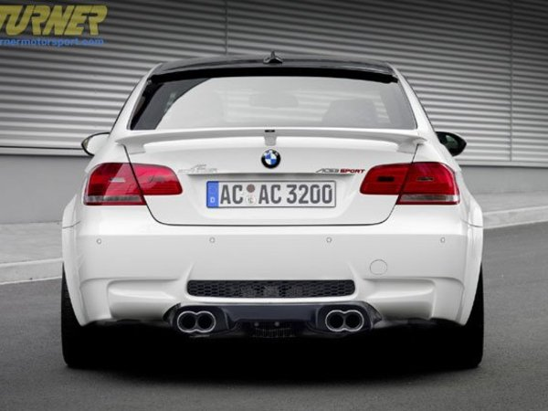 T#1563 - 5162-92110 - AC Schnitzer Rear Wing for 2007+ E92 Coupes - Authentic AC Schnitzer (ACS) rear wing / spoiler, which fits all E92 3 Series 2 door coupes, BMW 335i, 335xi, 328i, 328x and M3 Coupe as produced in 2007, 2008, 2009 and newer. This is the same rear wing as used on the ACS E92 M3. Designed not only to look good, but to also generate more downforce for improved high speed handling. This is a genuine AC Schnitzer wing (not a replica or immitation.) Made in Germany of high quality PU-RIM, a high quality plastic which is far more flexible and robust than other materials, such as ABS, GRP or fiberglass. This ACS rear wing fits the following BMWs:2007+ E92 3 Series Coupe including 328i, 328xi, 335i & 335xi coupe2008+ E92 M3 Coupe - Wiseco -