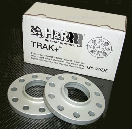 "T#1942 - HWH-70-12-B - H&R 12mm Wheel Spacers with Wheel Bolts - BMW E70 X5 (Pair) - 12mm = .47""A spacer package setup specifically for the 2007-later E70 X5 (not X5 M). Each spacer is 12mm and fits on your car's existing hub. The wheel bolts to the hub with longer wheel bolts (included!). Made in Germany and TUV approved. Sold as a pair of spacers with 10 bolts.This item fits the following BMWs:Front or Rear 2007-2013  E70 BMW X5 3.0si X5 4.8i X5 xDrive30i X5 xDrive35d X5 xDrive35i X5 xDrive48iFront Only2007-2013  E70 BMW X5M2007-2014  E71 BMW X6 xDrive35i X6 xDrive50i X6M - H&R - BMW"