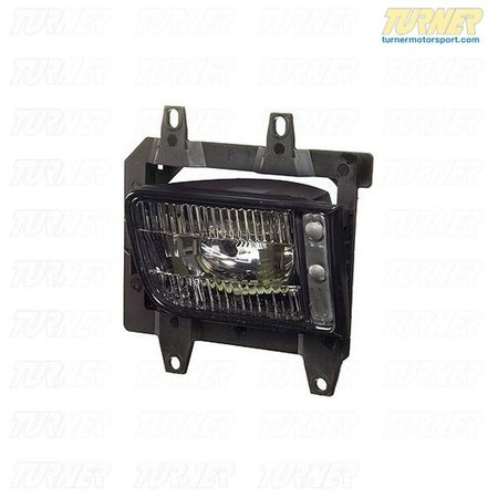 T#3938 - 63171385946 - Fog Light - Right - E30 1988-1991 - Foglights get the most abuse of any bodypanel on your car. Don't replace them with cheap parts but with high quality ones made from an OEM manufacturer. The ellipsoid fog lights were standard on E30 models with the small bumpers (cars producted from 1988-1991)This item fits the following BMWs:1988-1991  E30 BMW 318i 318is 318ic 325e 325es 325i 325ic 325is 325ix - ZKW - BMW