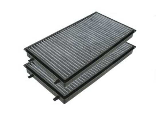 T#4574 - 64116921019 - OEM Mann Cabin Air Filter - Activated Charcoal (Pair) - E65 - Breathe fresh air again! As an important part of your car's heating ventilation and air conditioning (HVAC) system, the microfilter should be replaced every year.  This activated charcoal filter helps to reduce outside odors. This package includes 2 filters. This item fits the following BMWs:2002-2008  E65 BMW 745i 745li 750i 750li 760i 760li - Mann - BMW