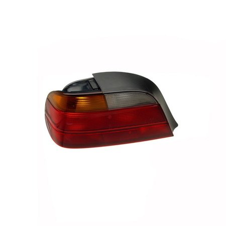T#4756 - 63218360081 - Tail Light - Left - E38 95-98 - 740i/il 750i/il - This is the left tail light assembly for E38 7 Series models. It has the standard amber turn signal color.  This item fits the following BMWs:1995-1998  E38 BMW 740i 740il 750il - ULO - BMW