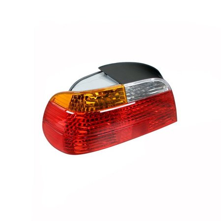 T#4740 - 63218381249 - Tail Light - Left - E38 99-01 - This is the left tail light assembly for E38 7 Series models. It has the standard amber turn signal color.  This item fits the following BMWs:1999-2001  E38 BMW 740i 740il 750il - ULO -
