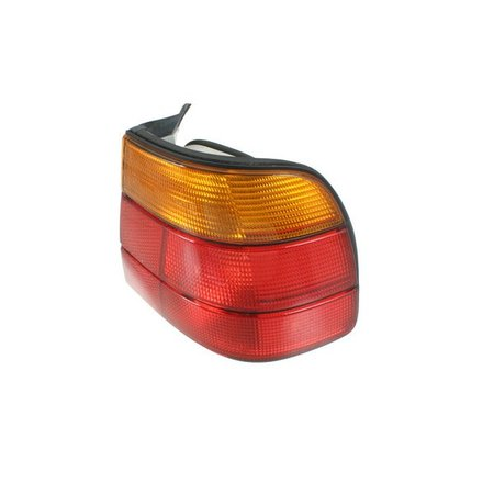 T#4785 - 63218355896 - Tail Light - Right - E34 525i Wagon, 530i Wagon - This is the right (passenger side ) tail light assembly for E34 5 series wagon models. It has the standard amber turn signal color.  This item fits the following BMWs:1990-1995  E34 BMW 525i Wagon, 530i Wagon  - Genuine BMW - BMW