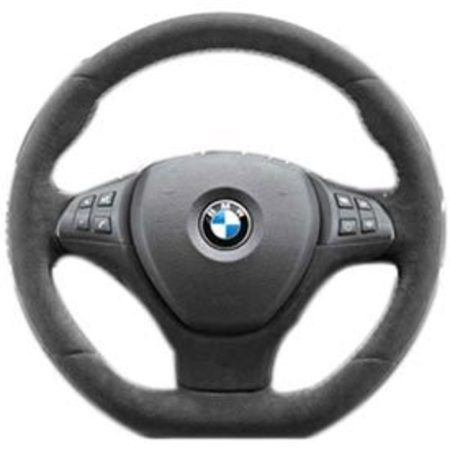 T#5186 - 32302166620 - Genuine BMW Performance Steering Wheel - E71 X6 - Both the design and function of the BMW Performance Steering Wheel capture the feel and spirit of the racetrack. By giving you access to a wide range of functions without having to take your hands from the wheel, this unique accessory lets you set the pace of every drive. Covered in full Alcantara used to enhance grip in extreme driving situations. Flat bottom to enhance sporty cockpit appearance. White stitching used for unique BMW Performance appearance.Not for vehicles equipped with Lane Departure Warning. Note: Heated steering function will no longer be active after installation. Air bag unit and multifunction buttons are not included but can be carried over from the sport or M sport steering wheels.This item fits the following BMWs:2007-2014  E71 BMW X6 xDrive35i X6 xDrive50i  - Genuine BMW - BMW