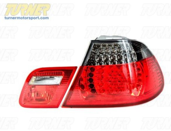 Genuine BMW Smoke Tail Lights (pair) - E46 323ci 325ci 328ci 330ci M3 00-3/03 LRL460NSYSMOKE