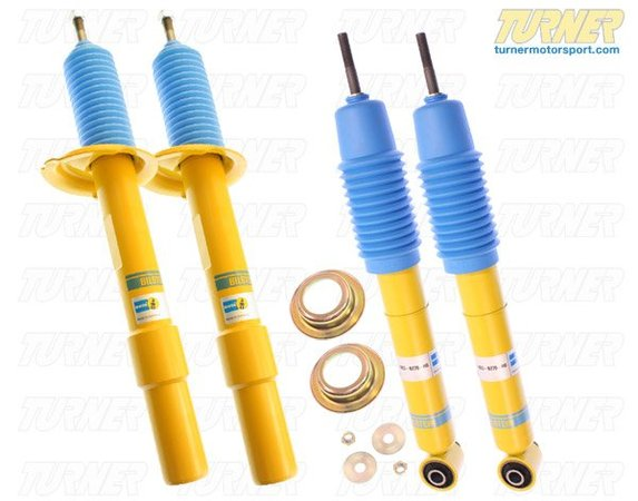 T#5816 - E63HDSET - E63 Bilstein HD Shocks - E63 645ci 650i (Set of 4) - For stock springs; Set = 2 front + 2 rear. Will not work on cars with electronic or self leveling suspensions. The Bilstein Heavy Duty (HD) Shock is designed for use with stock springs. These shocks provide improved handling and stability without sacrificing ride comfort.This item fits the following BMWs:2004-2011  E63 BMW 645ci 650i  Coupe & Convertible - Bilstein - BMW