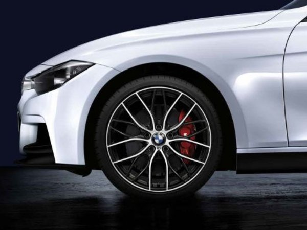 Genuine BMW M Performance Genuine BMW Performance M Double Spoke 405 Wheels & Tires - F30 3 series 36112219672