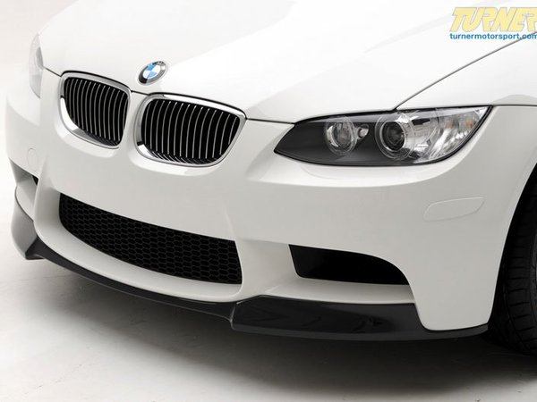 T#12231 - TMS12231 - Vorsteiner Front Add-On Carbon Fiber Spoiler - E90, E92 M3 - Show off the racing heritage of your E90 M3 with this Vorsteiner VRS Aero carbon fiber front add-on spoiler! This lip spoiler mounts to the bottom of your existing front bumper to provide a lower and more agressive look.   Vorsteiner is a company that was conceived through the imagination of creating the highest quality parts for the most discerning vehicles and clientele. Their relentless pursuit of advancement and perfection is seen not only in their unmatched automotive parts, but also in the hands of carbon fiber craftsmen to create purely sensational parts for the most deserving and elite vehicles.Every Vorsteiner product is rigorously tested and must pass our highly detailed quality control before leaving the on-site Vorsteiner factory. Only after rigorous testing can a part be deemed worthy of the Vorsteiner name. Our clientele expect nothing less than perfection from Vorsteiner, and we welcome and exceed these expectations.Vorsteiner's Autoclaved Pre-Preg Carbon Fiber structure gives our parts superior stiffness, aerospace strength & durability compared to traditional hand laid carbon fiber composites.This item fits the following BMWs:2008-2011  E90 BMW M3 - Sedan2008-2012  E92 BMW M3 - Coupe2008-2012  E93 BMW M3 - Convertible - Vorsteiner -