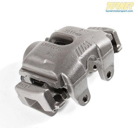 T#5747 - 34112229384R - Brake Caliper - Rebuilt - Front Right - E39 M5 2000-2003 - Our rebuilt calipers start off with an original BMW caliper that is fully disassembled thoroughly inspected and carefully processed. All threads are chased, all groves are meticulously cleaned and checked. Pistons are replaced if any dents or scratches are found. All rubber components and hardware are replaced with new OE quality parts. The units are then air pressure tested and submitted to a thorough final inspection.Price includes $125 core charge - Centric - BMW