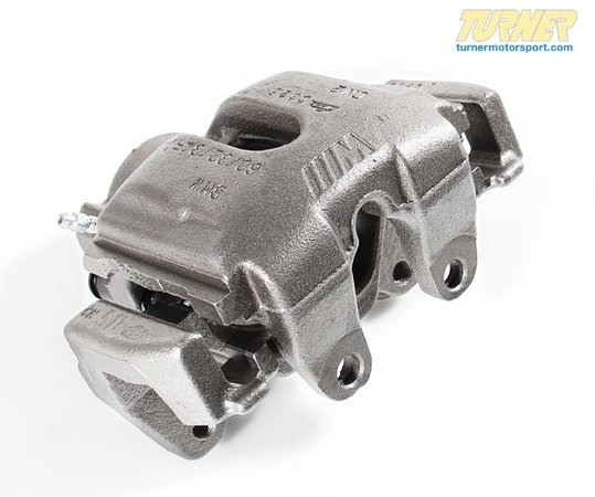 T#5746 - 34112229383R - Brake Caliper - Rebuilt - Front Left - E39 M5 - Our rebuilt calipers start off with an original BMW caliper that is fully disassembled thoroughly inspected and carefully processed. All threads are chased, all groves are meticulously cleaned and checked. Pistons are replaced if any dents or scratches are found. All rubber components and hardware are replaced with new OE quality parts. The units are then air pressure tested and submitted to a thorough final inspection.Price includes $125core charge - Centric - BMW